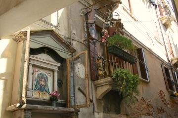 The neighbour's apartment, Castello, Venice